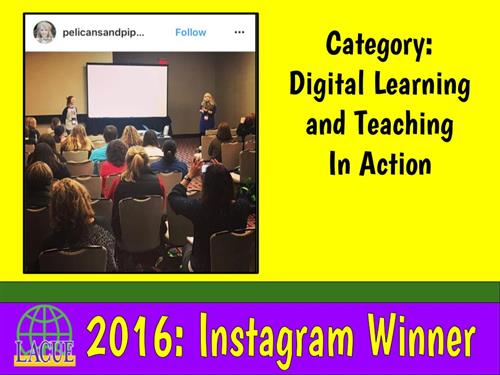 Instagram 2016 - Digital Learning and Teaching in Action